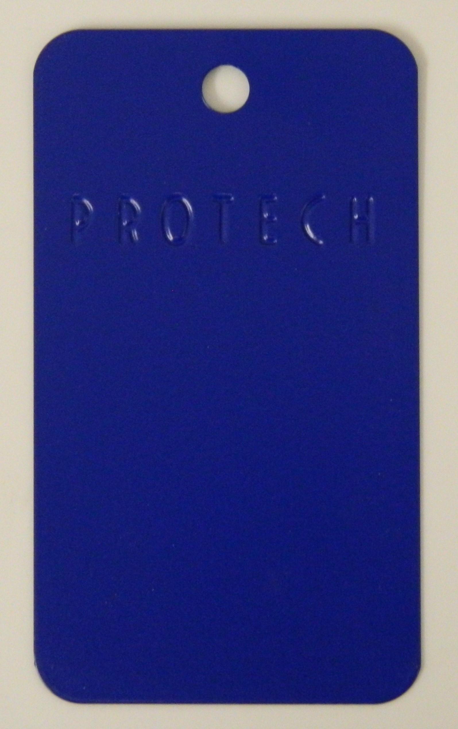 Sapphire High Gloss White Laminate Platform Bedroom Set: RAL 5003GL Sapphire Blue