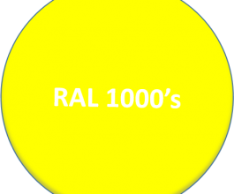 RAL 1000's