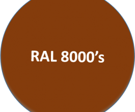 RAL 8000's