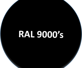 RAL 9000's
